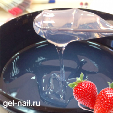 Strawberry Clear Silcare 50гр