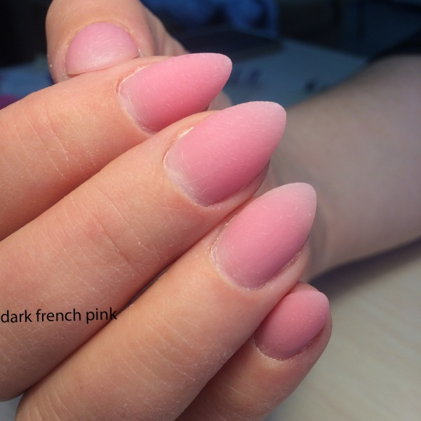 Dark French Pink Silcare 100гр