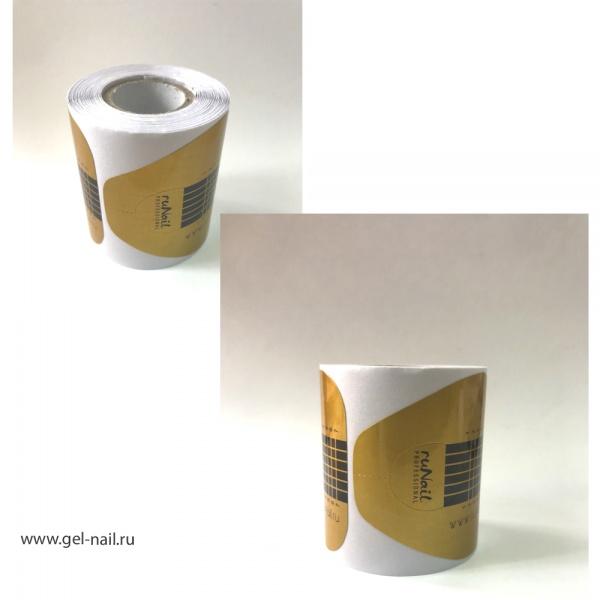 Форма для моделирования ногтей бумажная 100 штук