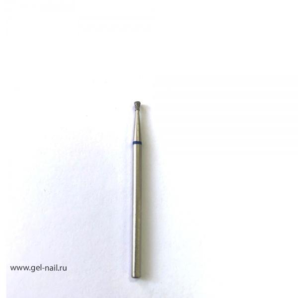 Фреза алмазная тупой конец диаметр 1,5мм