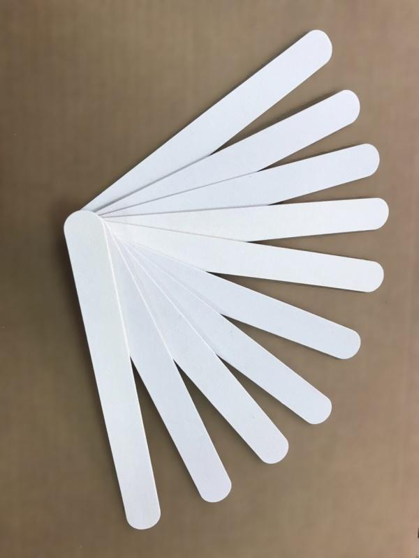Пилка деревянная одноразовая для натуральныйх ногтей