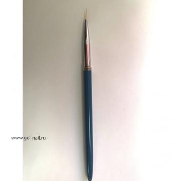 Кисть линеар синяя 9мм