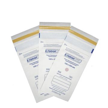 Крафт пакет термозапечатываемый 100/200